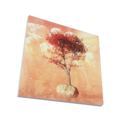 Red Tree 3D Artwork Painting