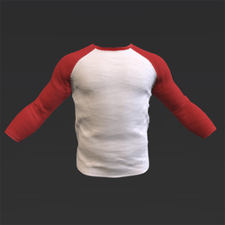 Red/white Baseball T-Shirt