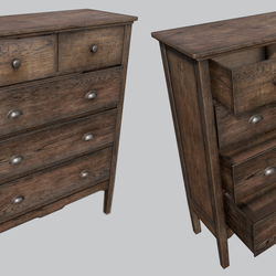 Old Wooden Dresser A