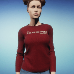 Women's Atlas-Hopping T-Shirt