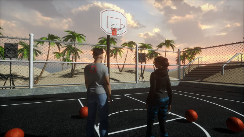 Beach Basketball VR