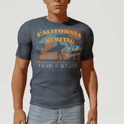 Mens California Surf T-Shirt