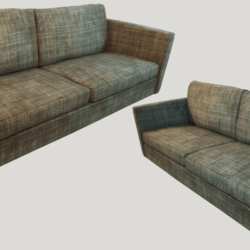 Old Dirty Couch - Vintage