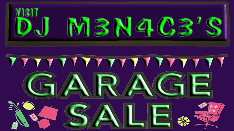 DJ's Garage Sale