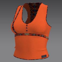 shirt w orange