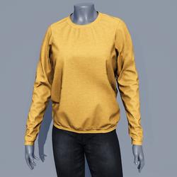 Women Sweater - Saffron