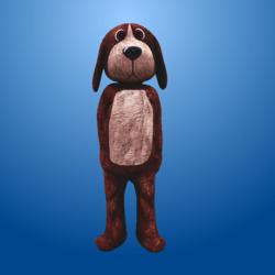 Brown Dog Costume
