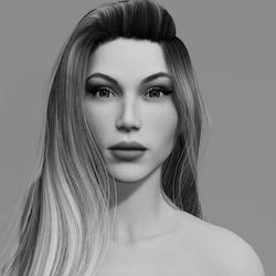 Angela - Porcelain - DEMO - Blue Eyes - Women AV2