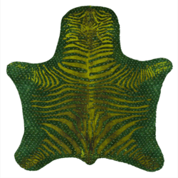 Skin Rug Green Dragon