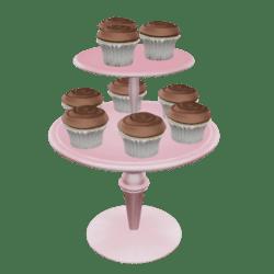 Chocolate Cupcake Stand