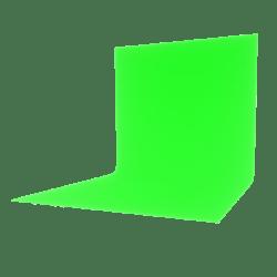 Backdrop Green 1x1 Full Bright