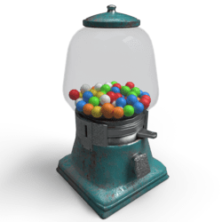 Gumball Machine Green