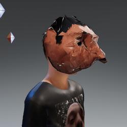Everything Everything Dave Sardine Mask (Cursed)