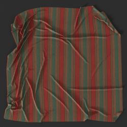 Striped Picnic Blanket 01