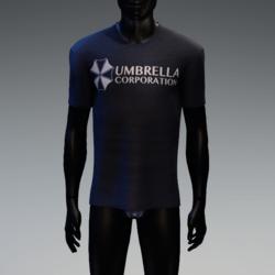 Umbrella Corporation T-Shirt Navy Blue