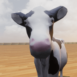 Cow on a Plinth
