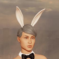 Sexy Bunny Ears - Up - Snow