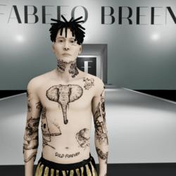 FSK Body tattoo male