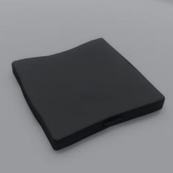 Floor Cushion With Handle Black
