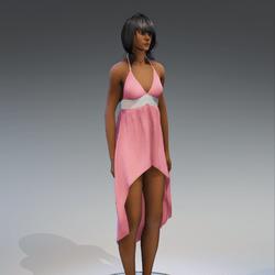 Dress Holly 2.0 rose