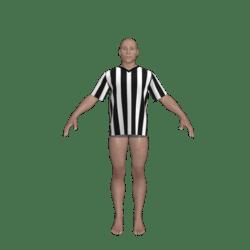 Referee Style Tshirt