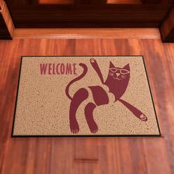 Door Mat Welcome Kitty