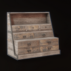 Victorian Stacked Trunk  - Rustic