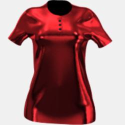 New Luxury Red Velvet Polo-Shirt