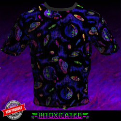 [INTOXICATED] planets shirt
