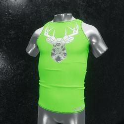Sleeveless Shirt deer green