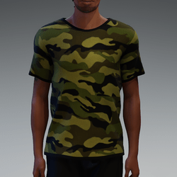 Camouflage T-Shirt for Men