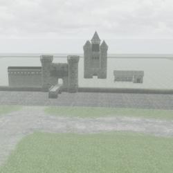 Terrain for a castle