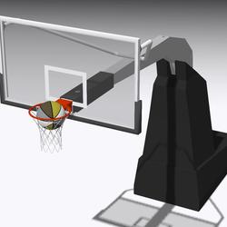 Basketball goal 003