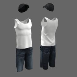 male short baseball cap