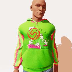Torley Top5 male hoodie