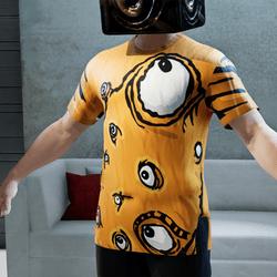 BLOB EYES | T-Shirt | Male