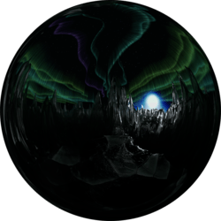 Icescape Night Top Skybox