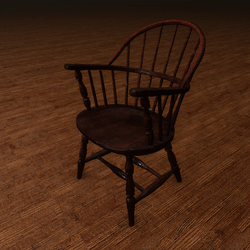 IUPUI Wood Chair