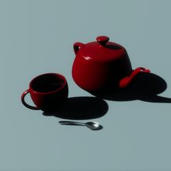 Porcelain Tea Set 02