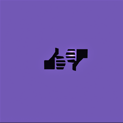 Like & dislike symbols