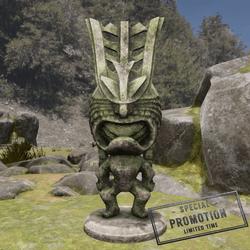 TKA LF Tiki Statue Stone