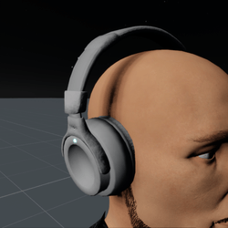 Headphones White M