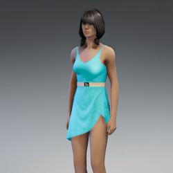 Dress Lara 2.0 blue