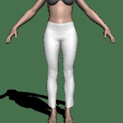 Pants w/Waistband & Hems