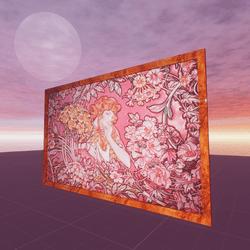 Le Langage des Fleurs Alphonse Mucha