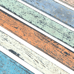 Planks colored
