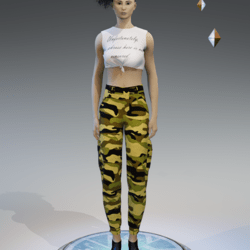 cargo pants for women camouflage z