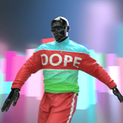 Dope coat male