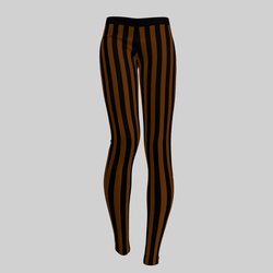 Leggings Maddy Stripes Black & Copper 2.0