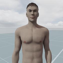 Jay T Custom AV 2.0 White Skin With Freckles